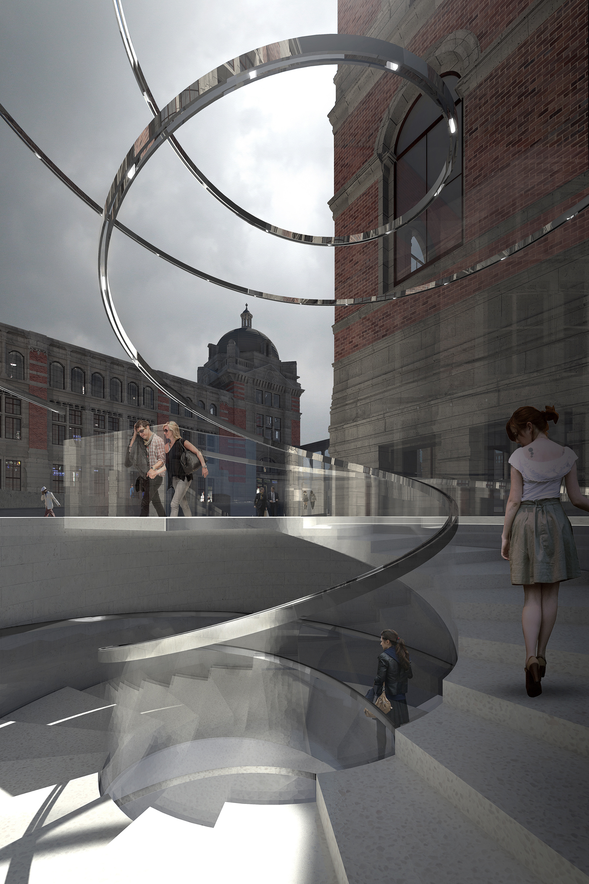 Heneghan Peng Architects Victoria Amp Albert Exhibition