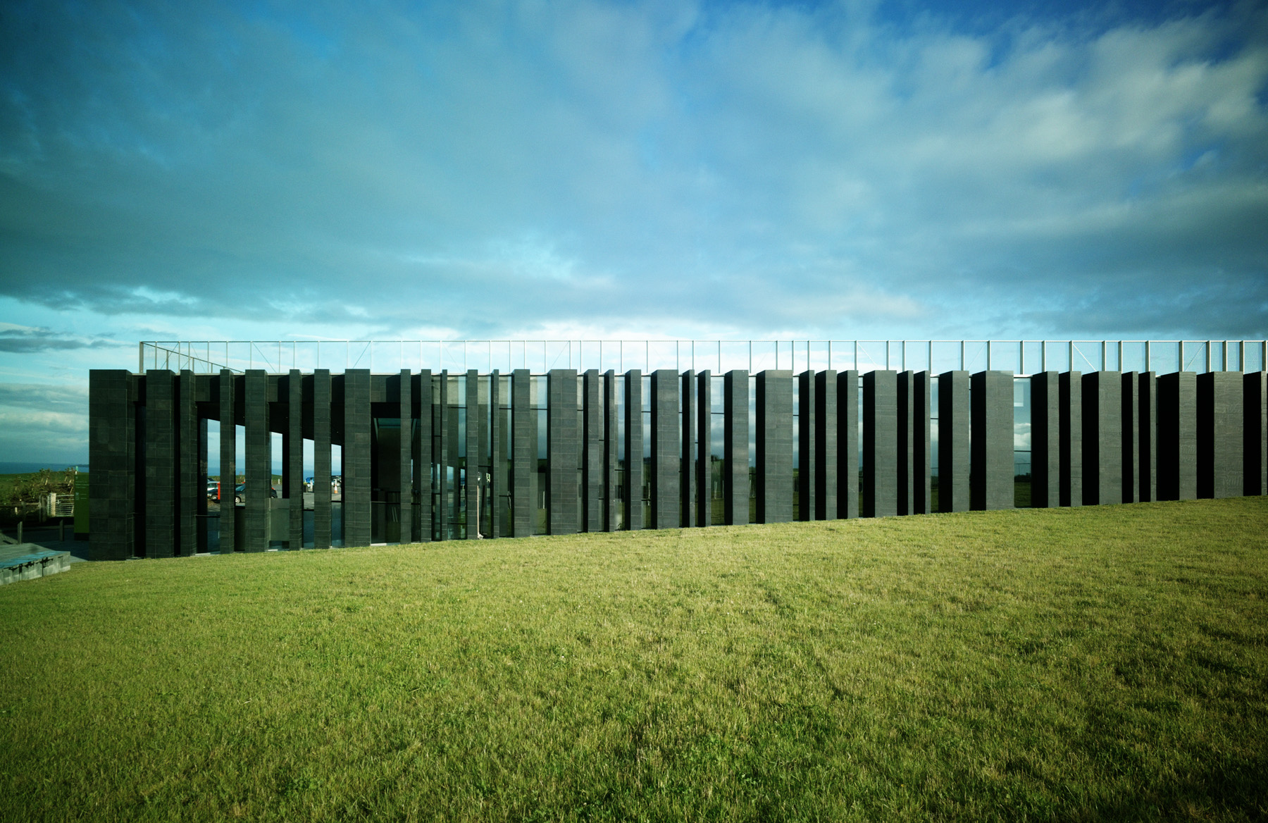 Heneghan peng architects giant s causeway visitors for Landscape architect ireland
