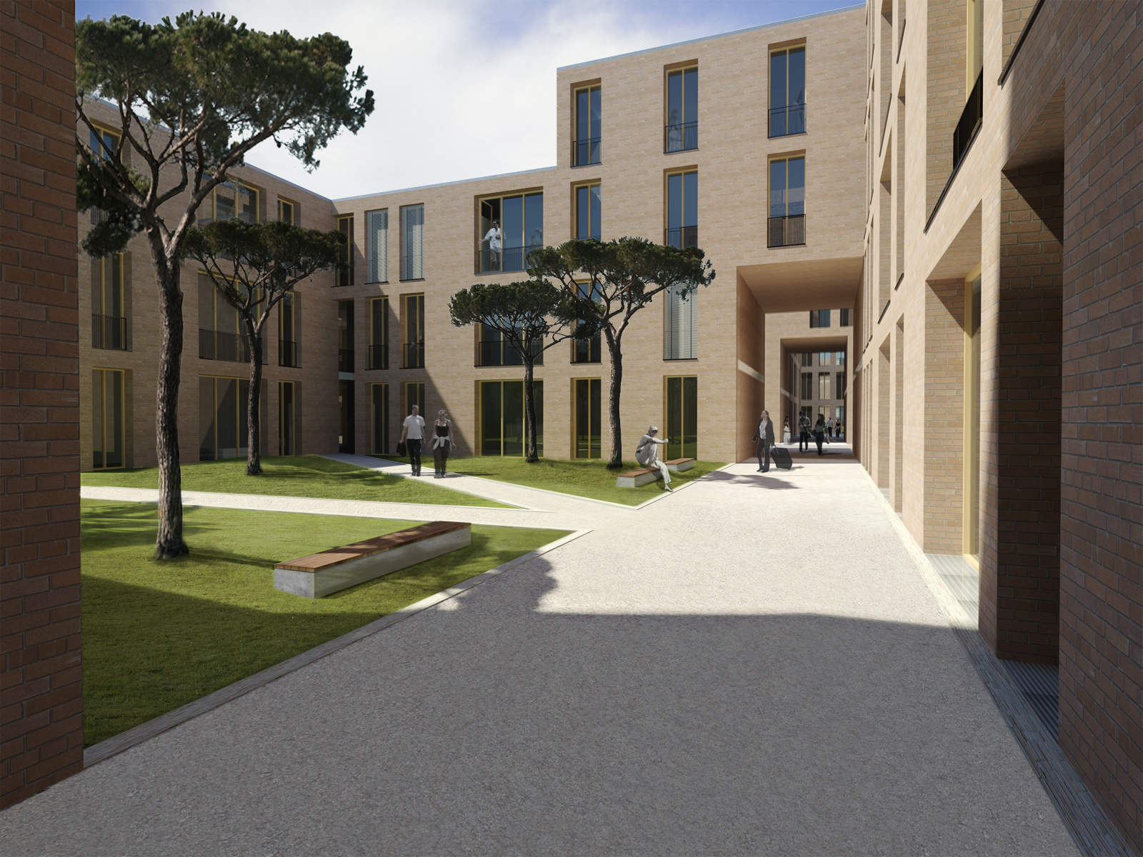 Heneghan Peng Architects Student Housing Maynooth University