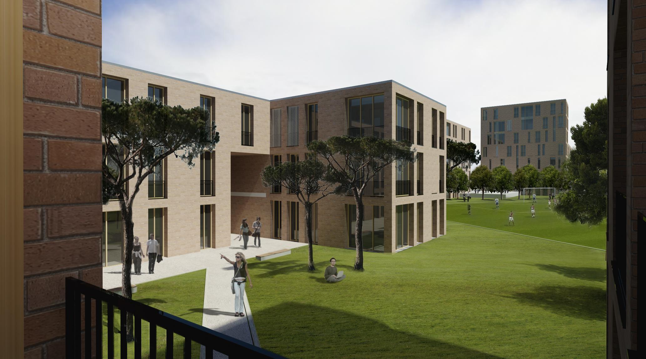 Heneghan Peng Architects Student Housing Maynooth University Ireland